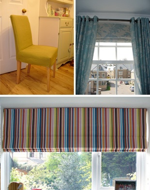 Soft Furnishing - Hertford - Andrea Litchfield Soft Furnishings - Curtain