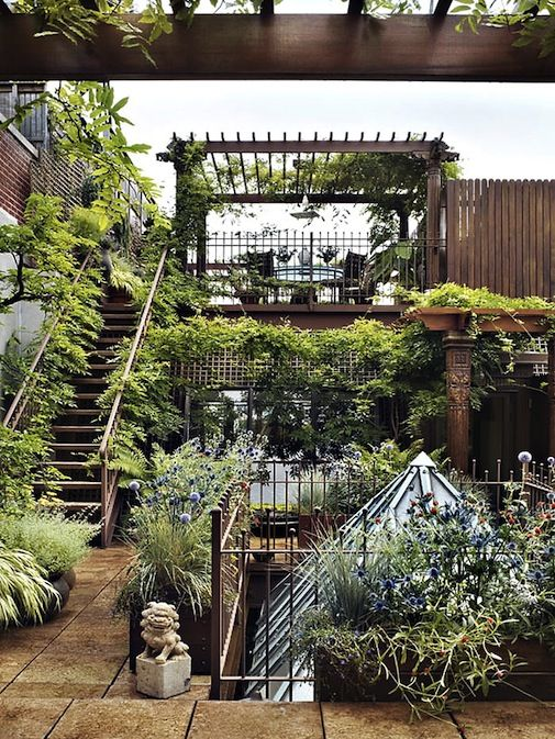 10 Gorgeously Inspiring Rooftop Terraces  http://inthralld.com/2012/07/10-gorgeously-inspiring-rooftop-terraces/