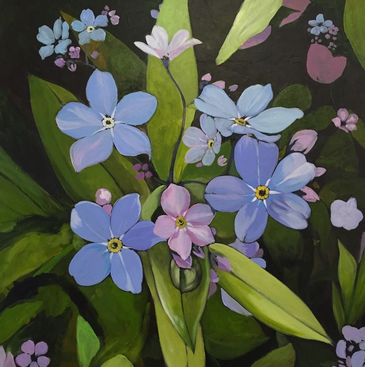 Jeremy Vaughan,   Forget me nots,