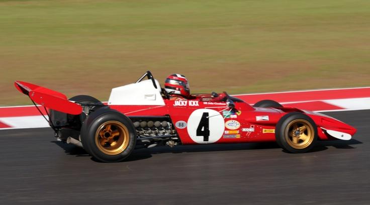 Jacky Ickx Ferrari 312B2 1971 (Austin 2012) © Peter Linder