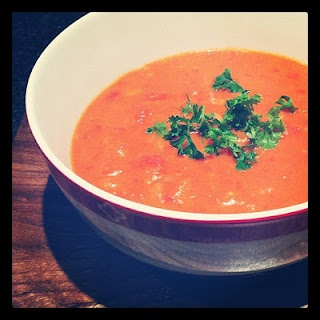 Cream of Tomato Soup by CWA member,  Noela McLeod