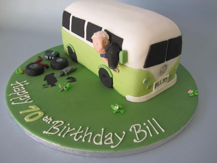 Personal camper van cake