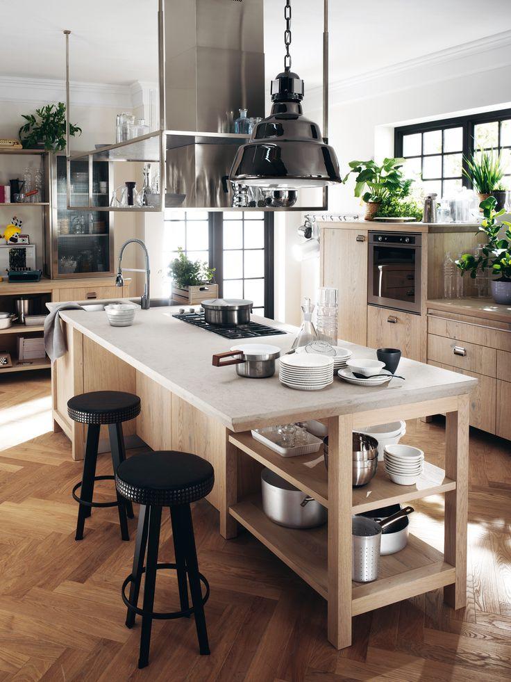 Diesel Social Kitchen design by Diesel. Let's live together! The kitchen's key…