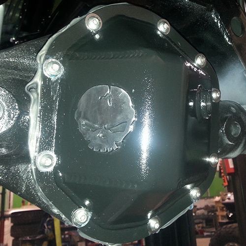 River Raider Differential Covers - They are fully welded inside and out and formed from 3/8'' plate steel, offering unparalleled protection!