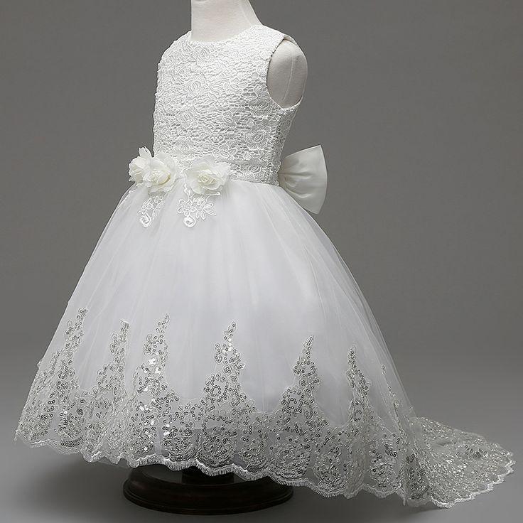 $34.29 (Buy here: https://alitems.com/g/1e8d114494ebda23ff8b16525dc3e8/?i=5&ulp=https%3A%2F%2Fwww.aliexpress.com%2Fitem%2Fchild-princess-dress-tutu-floral-teenage-girls-dresses-for-girls-2-12-year-3colors-white-pink%2F32727410467.html ) child princess dress tutu floral teenage girls dresses for girls 2-12 year 3colors white pink red new gown child wedding dress  for just $34.29