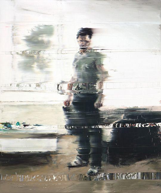 Andy Denzler - Destination, Oil on Canvas.