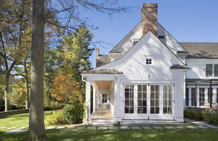 1000 images about new england farmhouse on pinterest for New houses that look old plans