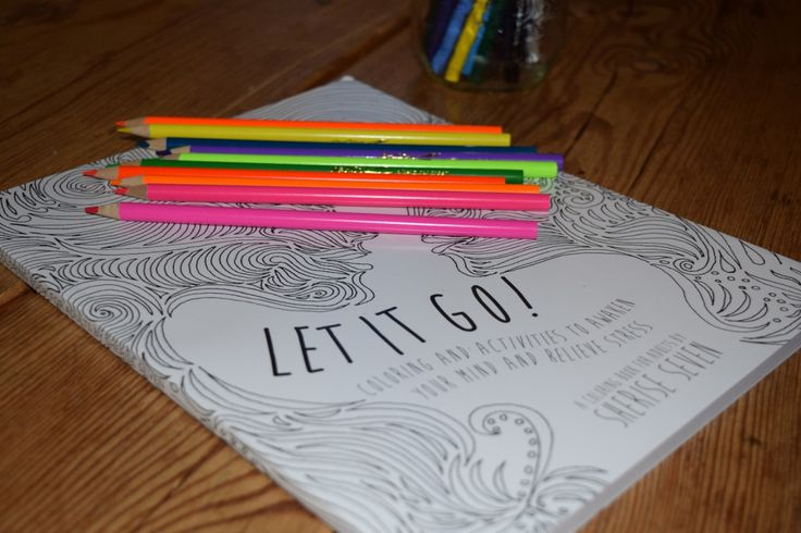 Let Go of Stress with Adult Coloring Books