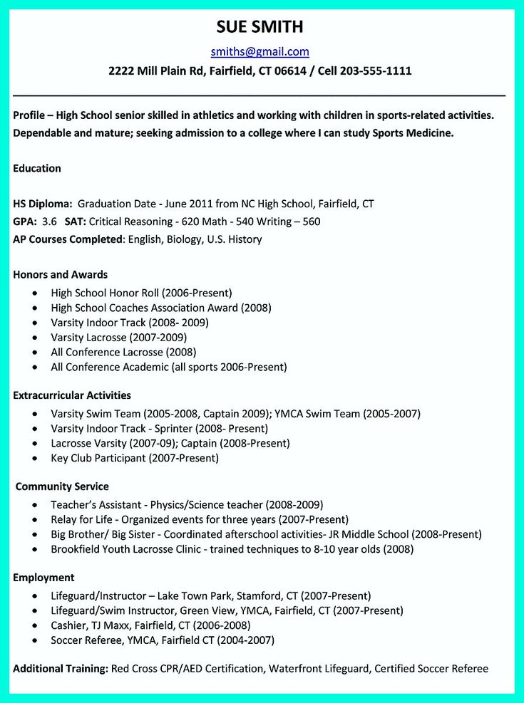 Best 25+ College resume ideas on Pinterest Uvic webmail, Job - sample resume of high school graduate