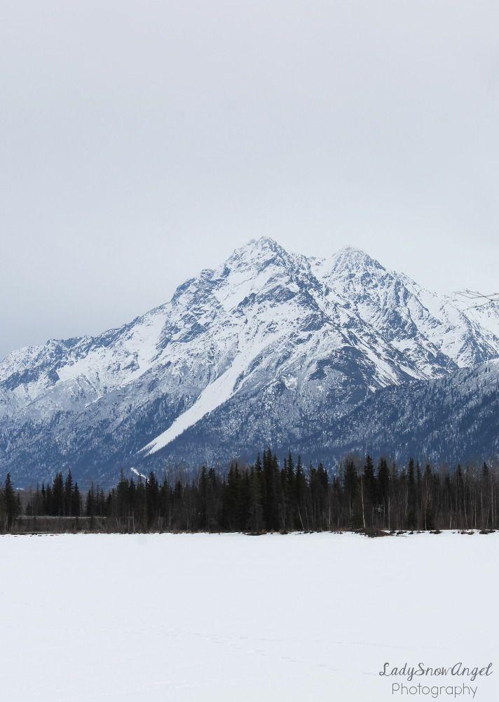 Snowy Mountain Beyond The Frozen Lake By Ladysnowangel Mountain Landscape Photography Winter Landscape Photography Snowy Mountains