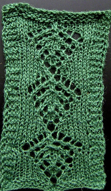 Shetland-Fern-Stitch sampler Knitting Charts, and Techniques Pinterest