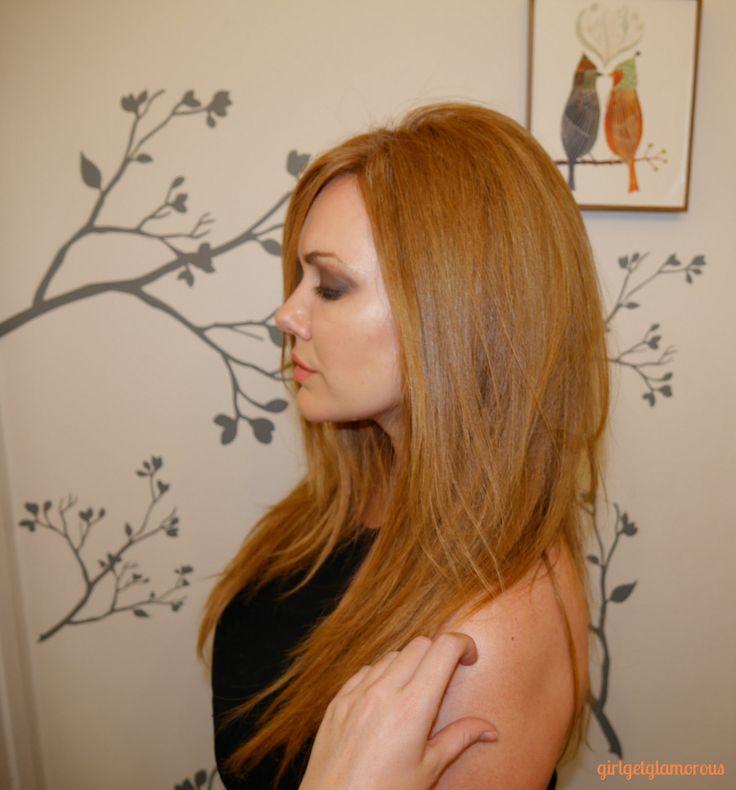 Blonde haare naturrot farben