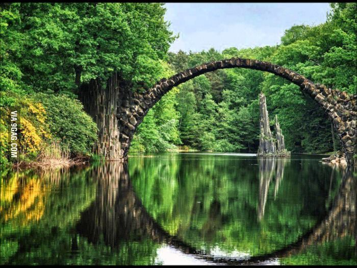 Ancient Bridge, Kolpino