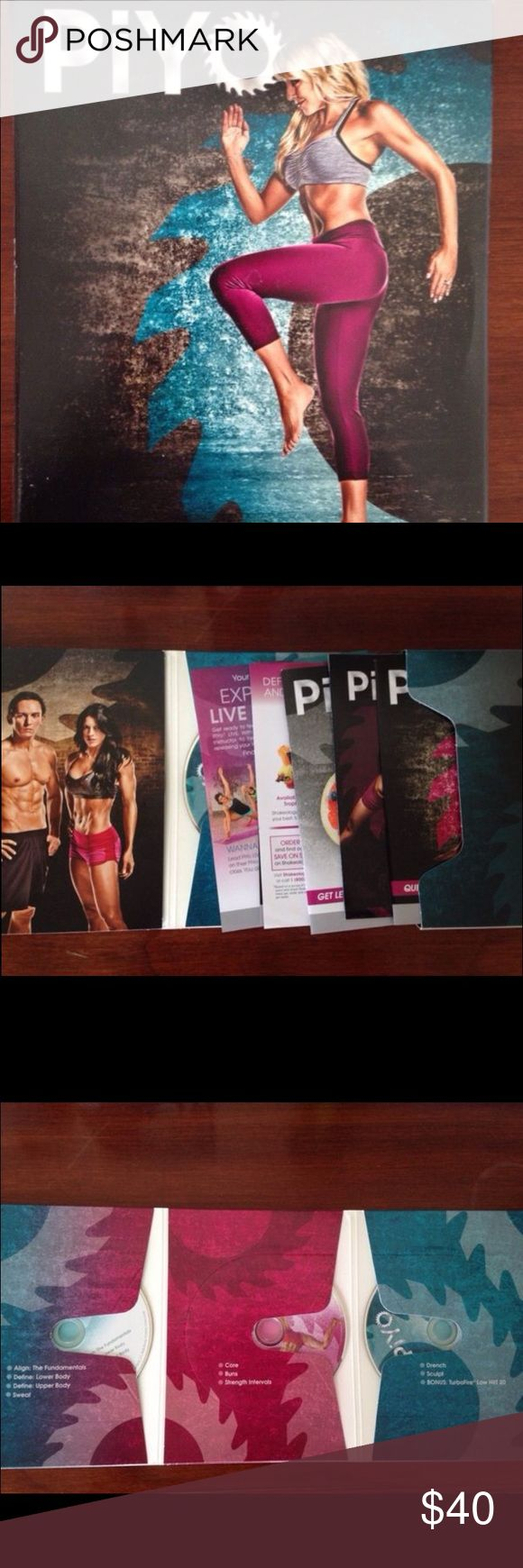 PIYO Workout DVD Never used, the BEACHBODY program gets you in shape fast! I bought it for $59.85 but selling it for a great price. Other