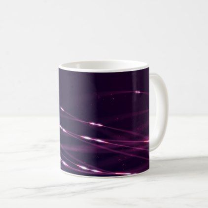 #Abstract Dark Purple Coffee Mug - #giftsforher #gift #gifts #her