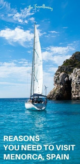 Spain Travel Inspiration - Travel guide - what to see and do on the Spanish island of Menorca via @thetravelbunny