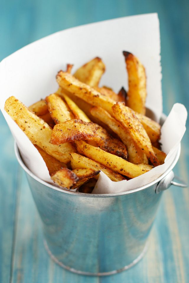 how to make french fries from potatoes in oven