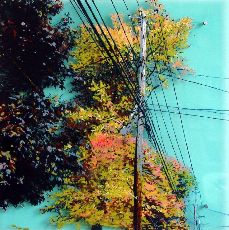 """Power Line Tree 4"" by Cara Enteles"