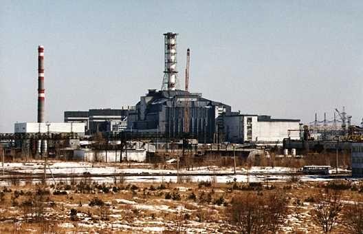 Desastre nuclear Chernobyl (1986).
