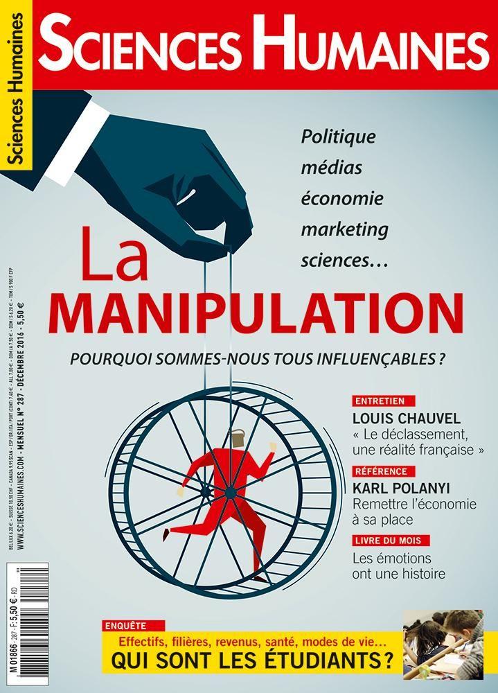 Sciences Humaines n° 287 Décembre 2016 http://bu.univ-angers.fr/rechercher/description?notice=000362054