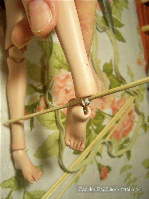Учимся перетягивать и проклеивать кукол BJD. Перетяжка проклейка БЖД своими руками, фото, видео / BJD - шарнирные куклы БЖД / Бэйбики. Куклы фото. Одежда для кукол