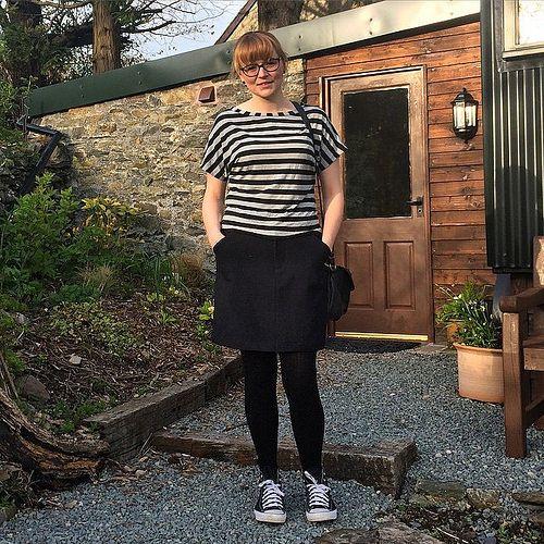 #MMMay15 @sozoblog dolores batwing top @grainlinestudio moss skirt | Flickr - Photo Sharing!