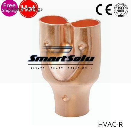 29.69$  Watch here - http://aliuze.shopchina.info/1/go.php?t=32654866875 - 19mm*1.0mm HVAC Equal Y Pant Type Copper Pipe Tee Fitting Plumbing For Air Conditioner & Refrigeration,Freezer, Cooler,Parts  #buyonline