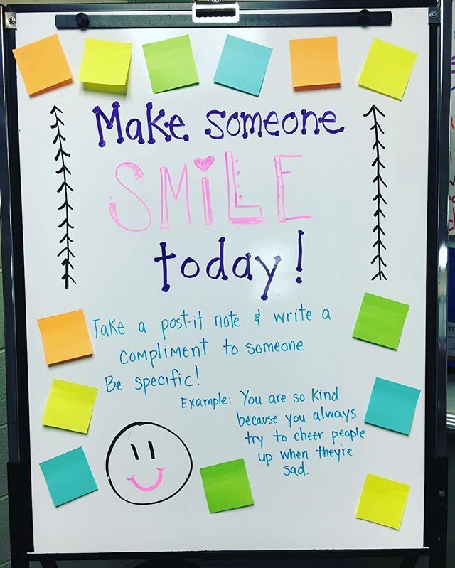 I had to go in and erase my white board question from yesterday because like I said I was a whole week ahead of myself. Although that was a total bummer on all parts (that Spring Break doesn't start tomorrow and that I had to erase my board) this board was a great make up both for writing the compliments and receiving some. ❤️ @miss5th thanks for all the great ideas! #iteach #iteachtoo #teachersfollowteachers #teachersofinstagram #miss5thswhiteboard