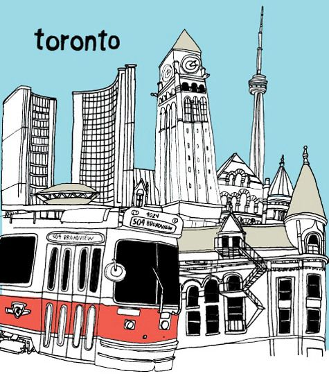 Toronto travel guide blog post- recommendations for art galleries, tourist attractions, restaurants - from Design*Sponge