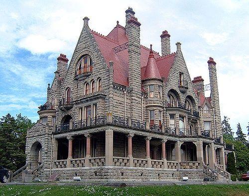 Craigdarroch Castle, Victoria, British Columbia, Canada