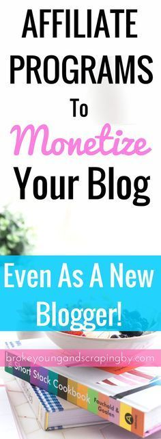 Want to start making money on your blog right away? I have a list of affiliate programs for new bloggers to join!