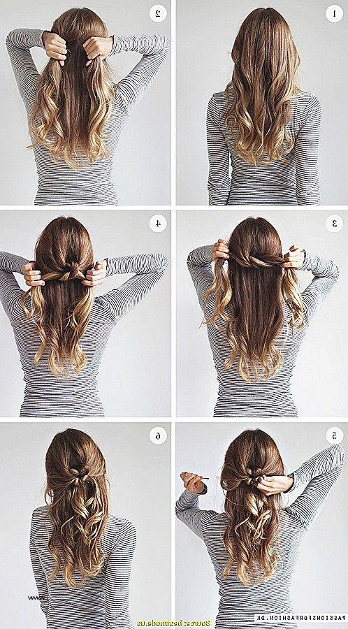 Trendy Frisuren Frauen Offene Haare