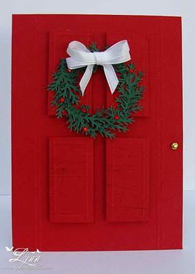 love the red door.