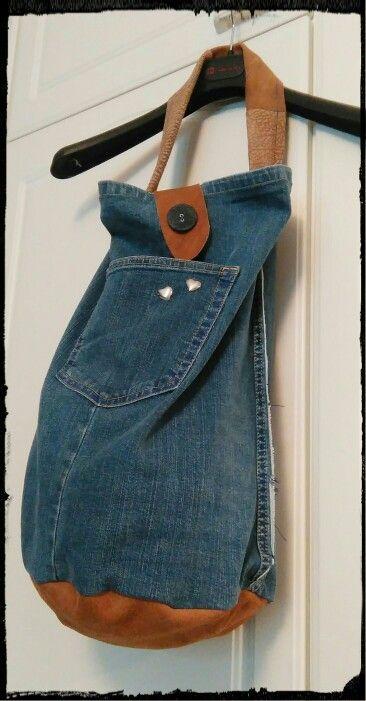 Old jeans -> sailorbag