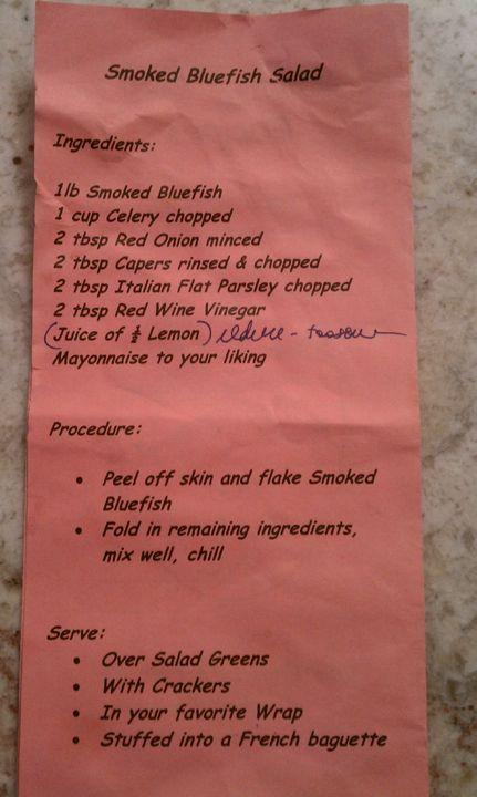 Smoked Bluefish Pate | Thanksgiving Dinner | Pinterest