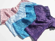 Did you know its easy to sew your own lace underwear - tutorial and free pattern - So Sew Easy