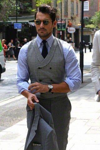 ck David  James  Gandy  leaving the launch of London Collection Men SpringSummer  London