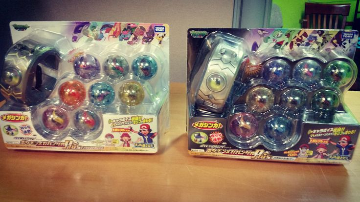 Mojoverse has the officially licensed Pokemon Omega Ruby and Alpha Sapphire Mega Bracelets with the Mega Stones!