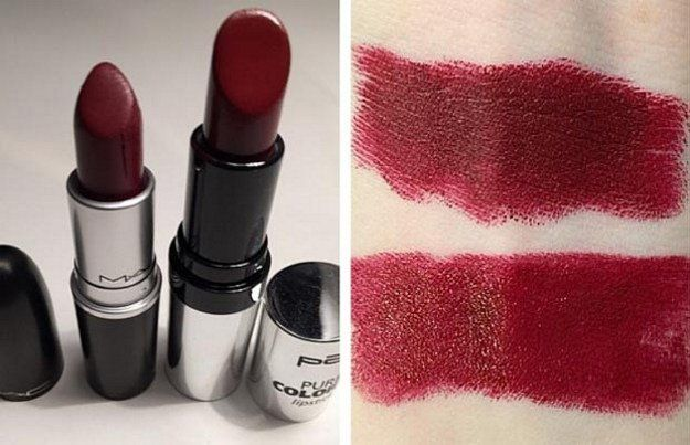 11. MAC Diva & P2 Corso Como | Splurge Or Save: The Best MAC Lipstick Drugstore Makeup Dupes