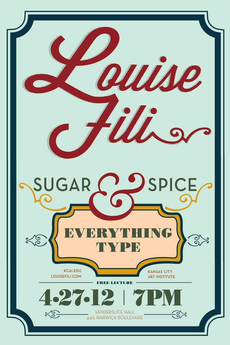 Louise Fili typography - Google Search