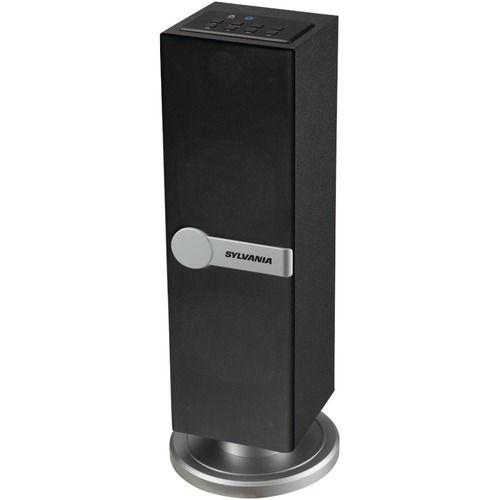 Sylvania Bluetooth Mini Tower Speaker (black)