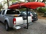 Darby Extend-A-Truck Hitch Mounted Load Extender - Roof or Truck Bed Darby Hitch Cargo Carrier DTA944