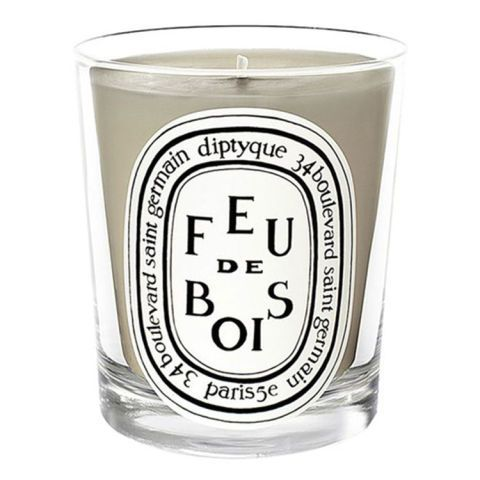from $32 BUY NOW Pleasantly woody and lightly smoky, this beloved scent from Diptyque transports its users in front of a warm hearth on a cold night.