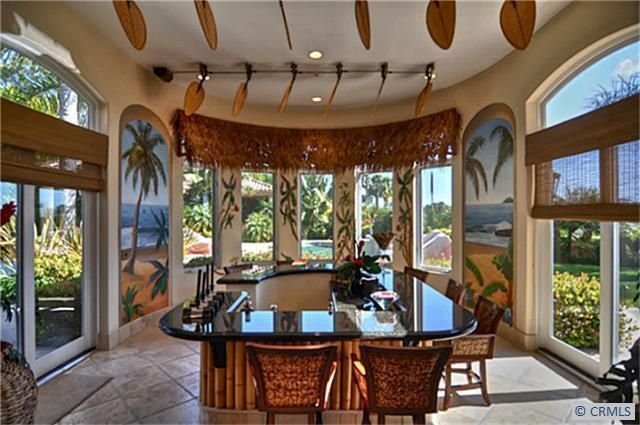 133 best ideas about hawaiian kitchens on pinterest for Tropical themed kitchen