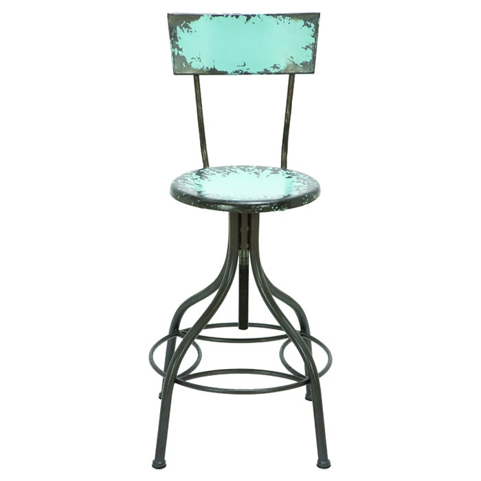 Antiqued Teal Bar Stool Atelier Pinterest Bar Stools