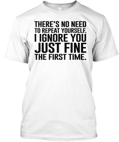 Awesome sarcastic t-shirt! This is super cold...