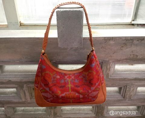 Indonesian Batik handbag Tas tenun ikat premium - Endek