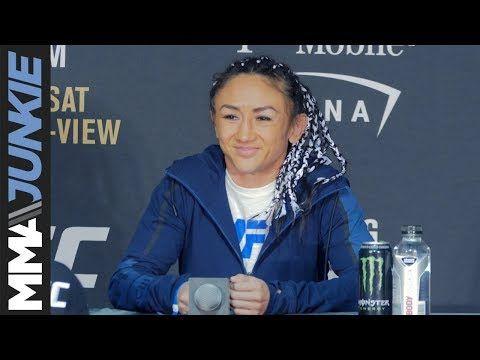 MMA UFC 219: Carla Esparza full post-fight interview