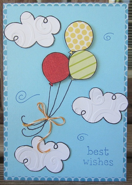 Best wishes card @ Lawnscaping challenge