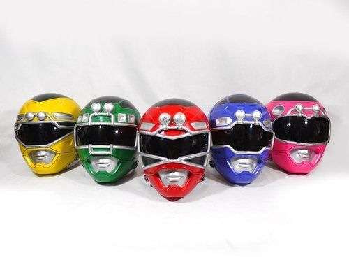Power Rangers Turbo Helmets